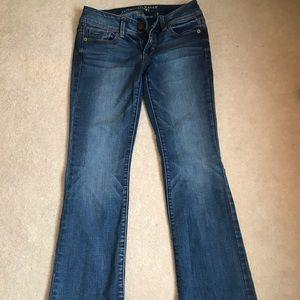 Kick boot super stretch American Eagle jeans